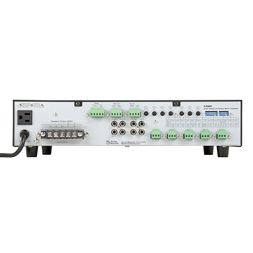Atlas AA120 120 Watt Six Input Mixer Amplifier