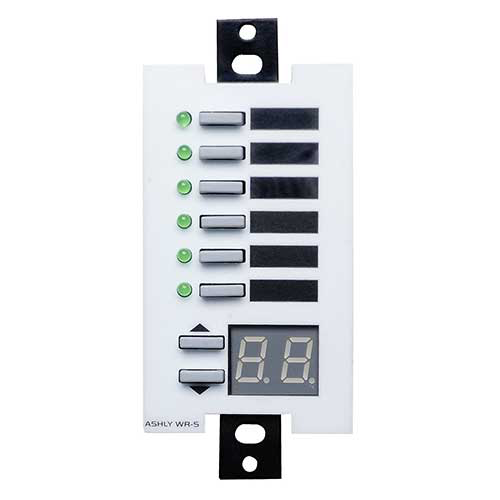 Ashly WR-5 Wall Remote, Programmable Multi-Function, Decora style