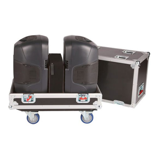"Gator G-TOUR SPKR-212 G-TOUR double speaker case for two 12"" loud speakers"