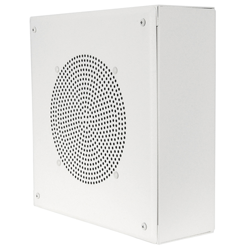 "Quam Speakers SYSTEM 1 Wall Mounted Square installation 8"" Speaker, White"