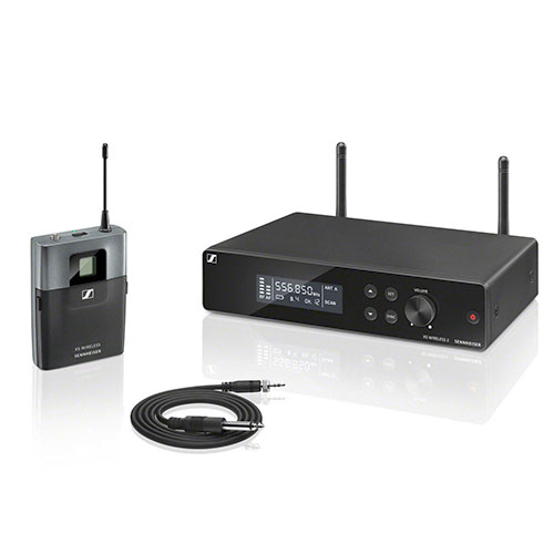 Sennheiser XSW2-CI1-A Wireless Instrument System. Frequency A (548-572 MHz)