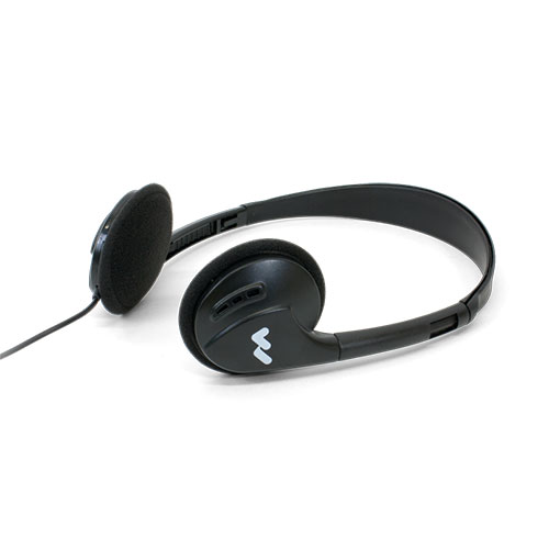 Williams Sound HED 021 Folding headphones for PPA. Mono plug.