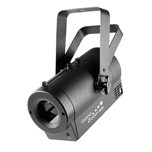 Chauvet DJ Gobo Zoom USB Super-compact custom gobo projector, with built-in D-Fi USB
