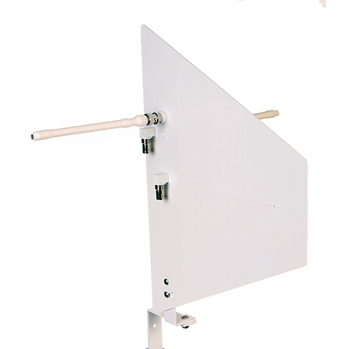 RF Venue DFINW Diversity Fin Antenna for Install, wallmount kit, White