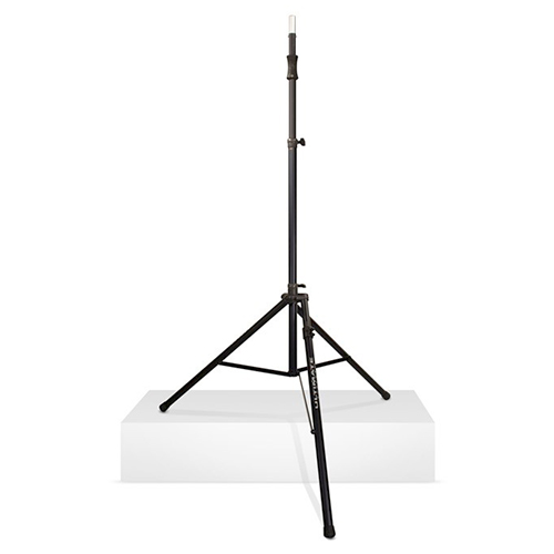 Ultimate Support TS-110BL Tall Lift-assist Tripod Speaker Stand with Leveling Leg, Black