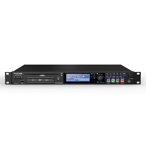 TASCAM SS-CDR250N Solid State Two-Channel Networking CD/Media Recorder
