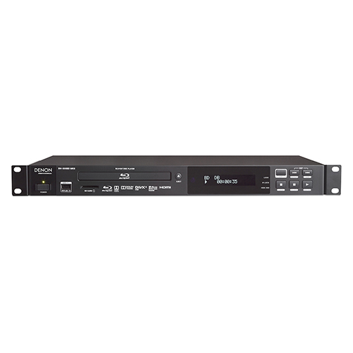 Denon Professional DN-500BDMKII Blu-Ray, DVD, CD, SD, USB Player