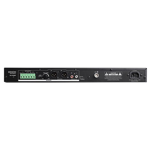 Denon Professional DN-350MP Audio Media Player with USB, Bluetooth and 60w Power Amp