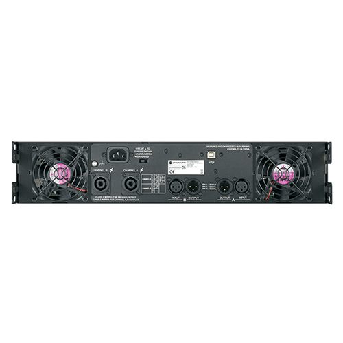 Dynacord Electronics L3600FD-US DSP power amplifier 2x1800W. With FIR drive, XLR/NL4 connectors.