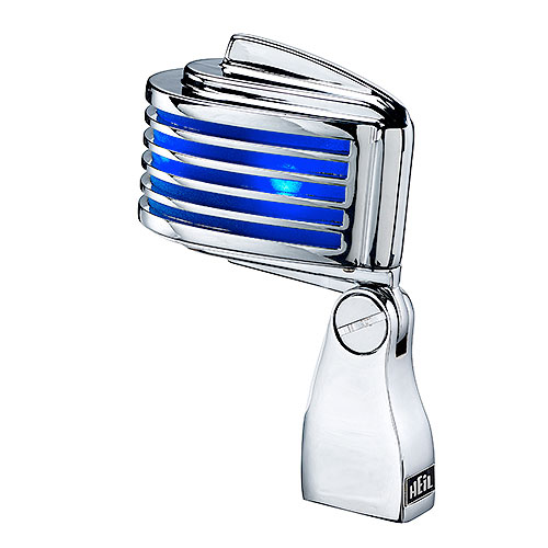 Heil Sound FIN (Blue) The Fin Chrome with Blue LED/Screen