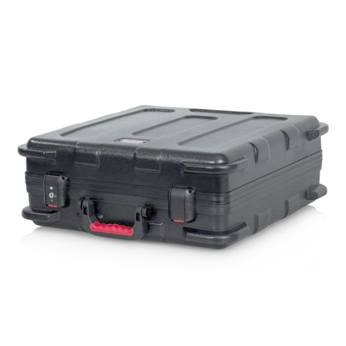 "Gator GTSA-UTLDF191907 TSA Series ATA Molded Polyethylene Utility Case With Diced Foam Interior; 19""x19""x7"""