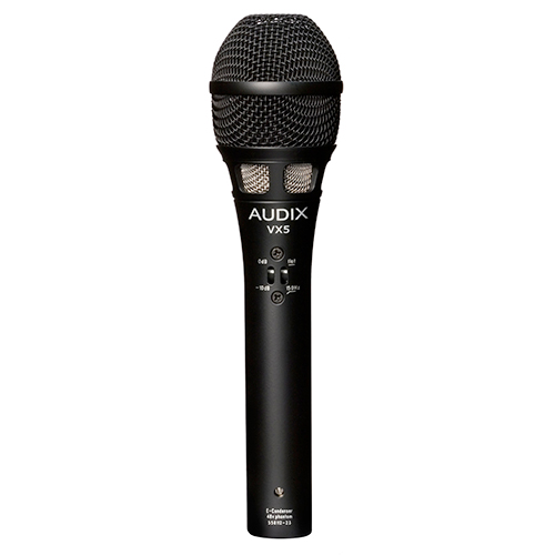 Audix VX5 Premium Electret Condenser Microphone for Live Sound and Broadcast