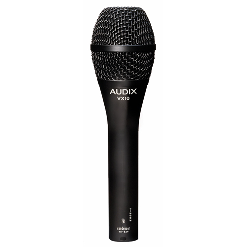 Audix VX10 Elite Condenser Vocal Microphone for Live Sound and Broadcast