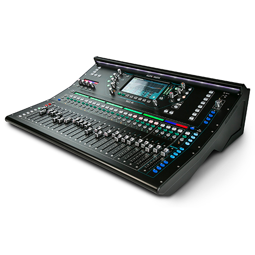 Allen & Heath SQ-6 96kHz XCVI FPGA processing, 48 Input Channels, 25 Faders