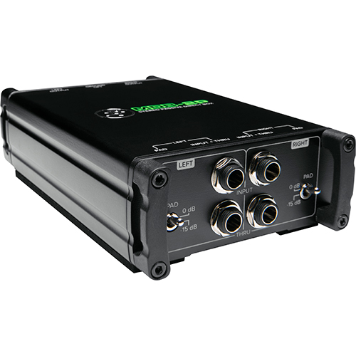 Mackie MDB-2P Stereo Passive Direct Box
