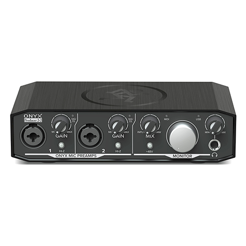 "Mackie Onyx Producer 2""2 2x2 USB Audio Interface with MIDI"