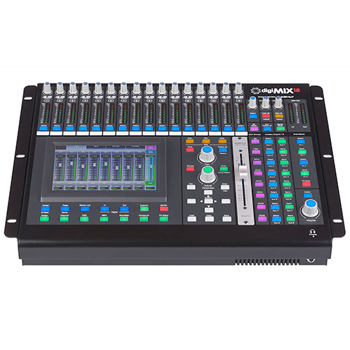 Ashly digiMIX18 Digital Mixer, 18-Input Rack-Mountable Console