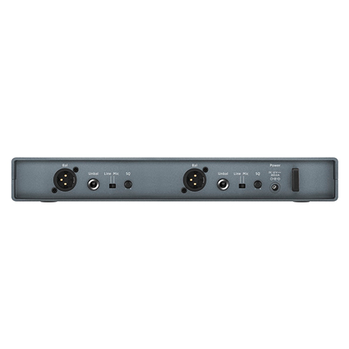 Sennheiser EM-XSW1 DUAL-A Dual receiver for use with XS Wireless transmitters, frequency range: A (548 - 572MHz)