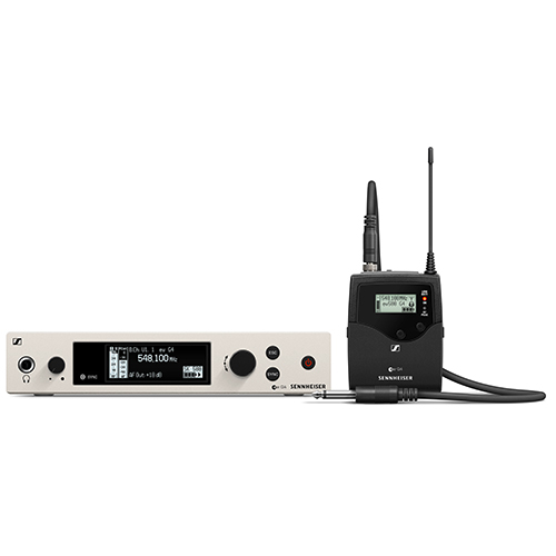 Sennheiser ew 500 G4-CI1-AW+ Wireless instrument set. Frequency range: AW+ (470 - 558 MHz)