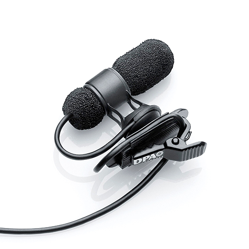 DPA Microphones 4080-DL-D-B00 d:screet™ 4080 Cardioid Mic, Normal SPL, Black, MicroDot, Adaptor Required