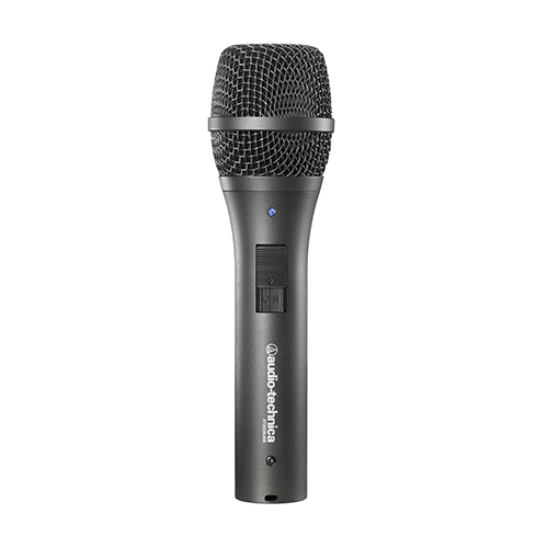 Audio-Technica AT2005USB Dynamic handheld microphone with digital(USB) and analog (XLR) outputs. Windows and Mac compatible.