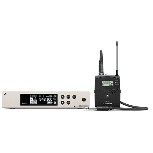 Sennheiser ew 100 G4-CI1-A1 Wireless instrument set. Frequency range: A1 (470 - 516 MHz)
