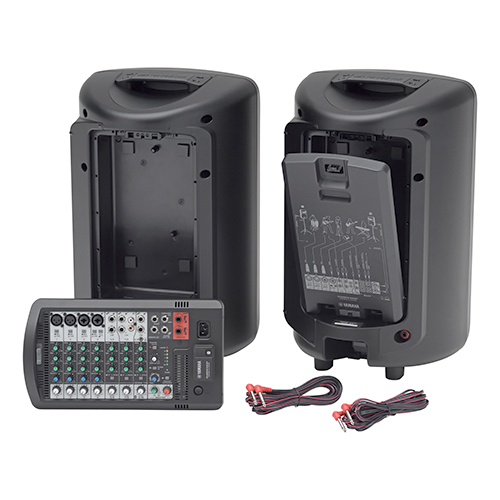 Yamaha STAGEPAS 600BT-CA 680W Portable PA System with 10-channel Mixer and Bluetooth v4.1 Audio Streaming