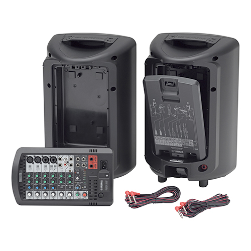 Yamaha STAGEPAS 400BT-CA 400W Portable PA System with 8-channel Mixer and Bluetooth v4.1 Audio Streaming