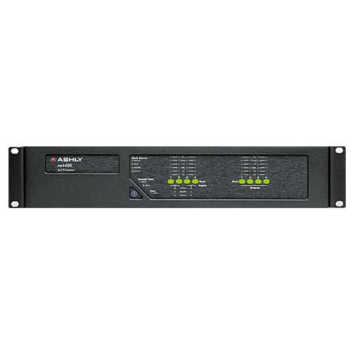 Ashly ne4400 Network Enabled Protea DSP Audio System Processor 4-In x 4-Out