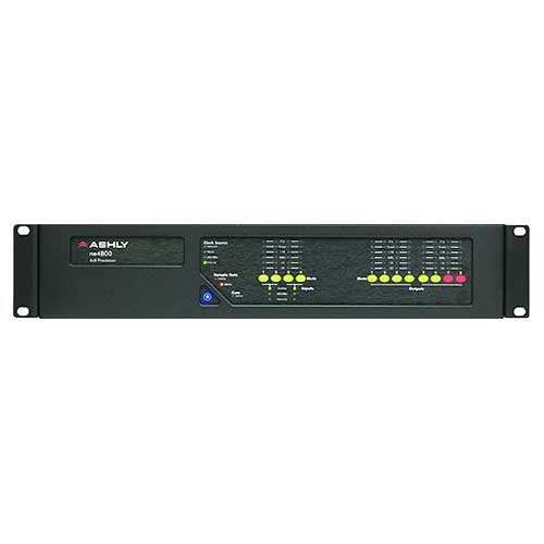 Ashly ne4800 Network Enabled Protea DSP Audio System Processor 4-In x 8-Out