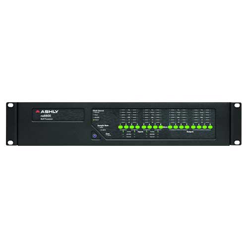 Ashly ne8800 Network Enabled Protea DSP Audio System Processor 8-In x 8-Out