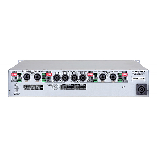 Ashly nX3.04 Power Amplifier 4 x 3,000 Watts @ 2 Ohms
