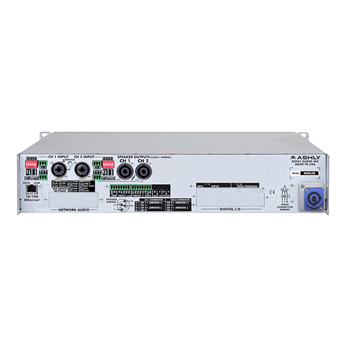 Ashly nXe3.02 Network Power Amplifier 2 x 3,000 Watts @ 2 Ohms