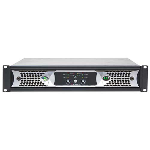 Ashly nXp3.02 Network Power Amplifier 2 x 3,000 Watts @ 2 Ohms with Protea DSP