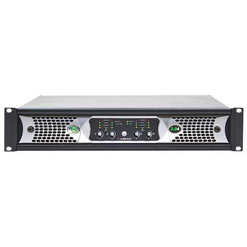 Ashly nXp3.04 Network Power Amplifier 4 x 3,000 Watts @ 2 Ohms with Protea DSP