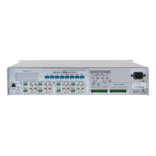 Ashly pema 4125 pema Network Power Amp 4 x 125W @ 4 Ohms & 25V Constant Voltage w/ 8x8 Protea DSP