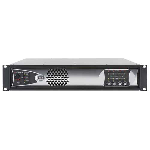 Ashly pema 4250.70 pema Network Power Amp 4 x 250W @ 70V Constant Voltage with 8x8 Protea DSP