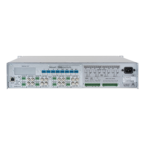 Ashly pema 8250.70 pema Network Power Amp 8 x 250W @ 70V Constant Voltage with 8x8 Protea DSP