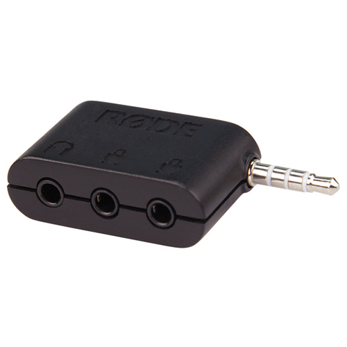 Rode Microphones SC6 Dual TRRS input and headphone output for Smartphones & Tablets