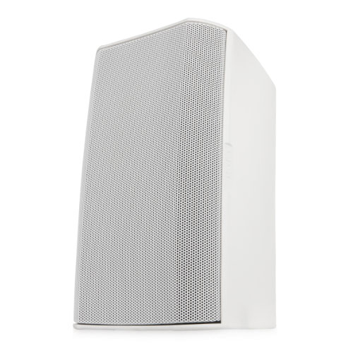 "QSC AD-S12-WH 12"" Two-way surface speaker, 75° conical DMT™ coverage."