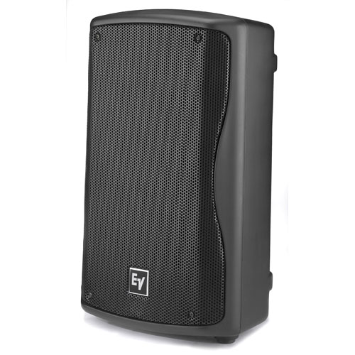 "Electro-Voice ZXA1-90B-120V Powered 8"" 2- Way Loudspeaker, Black"