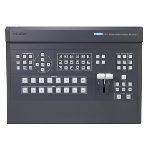 DataVideo SE-2200 6 input HD video switcher with HD-SDI and HDMI inputs.