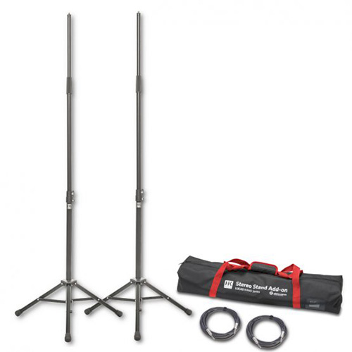 HK Audio LUCAS-KM300, LUCAS NANO 300 SERIES STEREO STAND ADD-ON, K&M stands, cables and bag