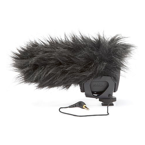 Rode Microphones DeadCat VMP The DeadCat VMP is a furry wind cover for the VideoMic Pro, designed for use in windy environments.