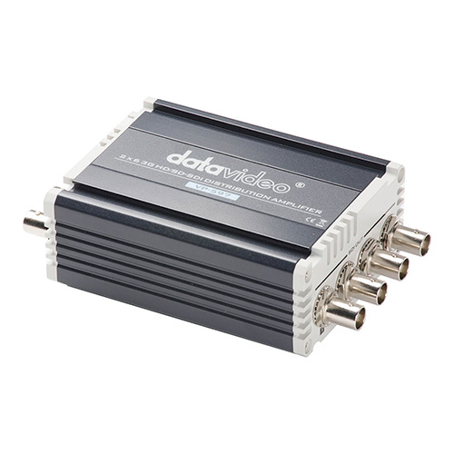 DataVideo VP-597 2 in, 6 out 3G-HD/SD-SDI Distribution Amplifier.