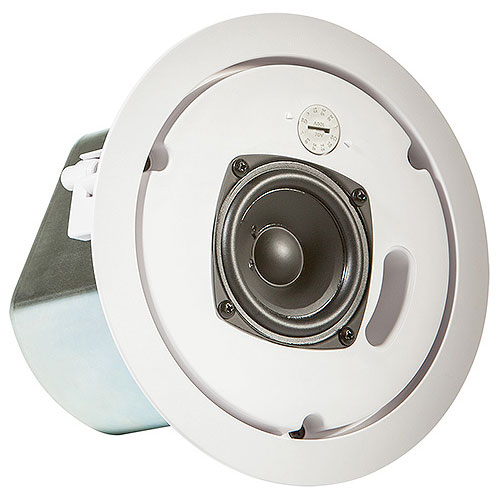 JBL CONTROL 12C/T Compact Ceiling Loudspeaker, White,  Sold as each, packed in pairs