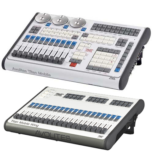 Avolites Titan Mobile Console with Wing Package, Lighting Console with Titan Operating System and Wing Package