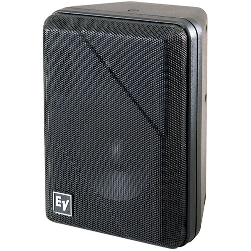 Electro-Voice S-40B Two-Way Indoor/Outdoor Compact Mini-Monitors, Black (PAIR)