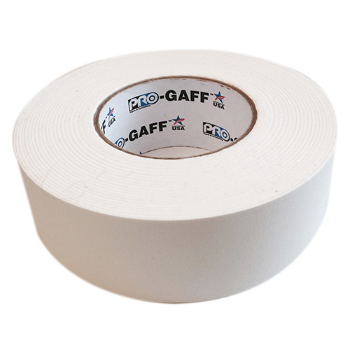 Gaff Tape PTS GT255WE White Gaff Tape, 2 inch x 55 Yards