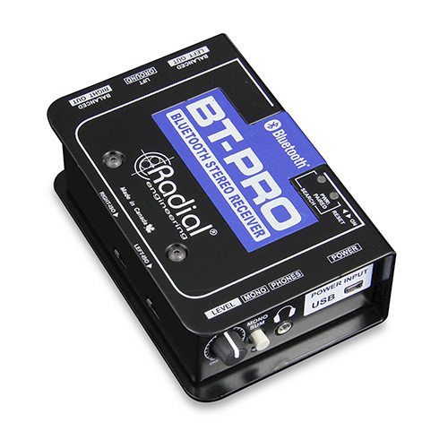 Radial BT-Pro Bluetooth Direct Box Wireless Reciever- Stereo